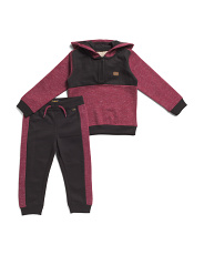 Infant Boys 2pc Fleece Hoodie And Jogger Set