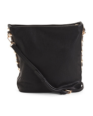 Convertible Hobo With Crossbody Strap