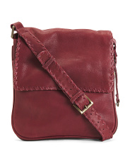 Leather Lazlo Expandable Crossbody