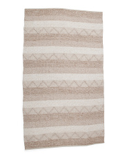 5x8 Wool Blend Hand Woven Textured Area Rug