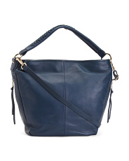 Made In Italy Napa Leather Hobo