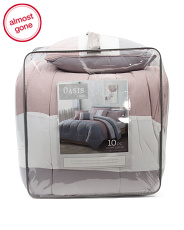 10 Pc.oasis Comforter Sets