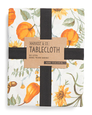 Pumpkin Harvest Tablecloth