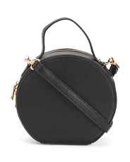 Round Top Handle Crossbody
