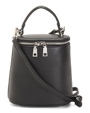 Top Handle Rounded Crossbody