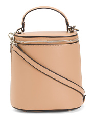 Top Handle Round Crossbody