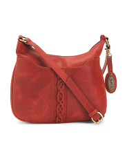 Leather Martina Crossbody