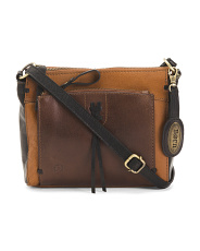 Leather Mateo Crossbody