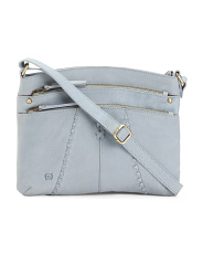 Leather Chanti Crossbody