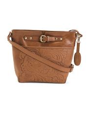 Leather Sarner Crossbody