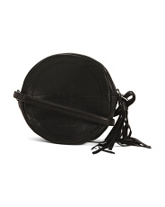Leather Koko Round Crossbody