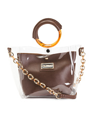 Ring Handle Crossbody With Pouch