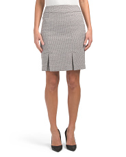 Petite Tweed Skirt
