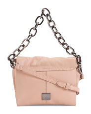 Dante Convertible Leather Crossbody
