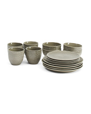 16pc Kain Dinnerware Set