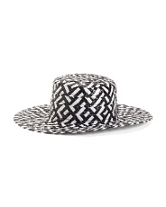 Stevie Patterned Straw Hat
