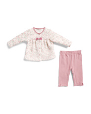 Infant Girls 2pc Floral Jacket Set