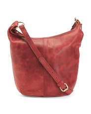 Leather Distressed Cara Hobo