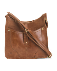 Leather Distressed Hampton Crossbody