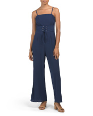 Juniors Australian Designed Square Neck Jumpsuit