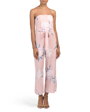Juniors Australian Designed Strapless Jumpsuit