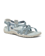 Comfort River Leather Sandals