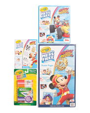 Mess Free Mickey Mouse Coloring Bundle