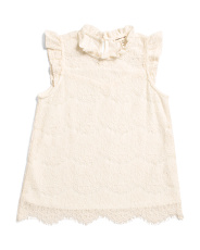 Big Girls Ruffle Top