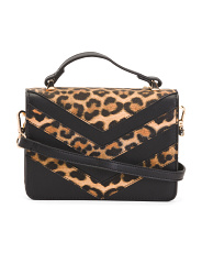 Joslyn Leopard Pattern Inlay Crossbody
