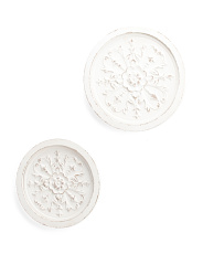 Set Of 2 Medallion Wall Decor