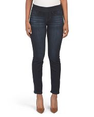 Petite Pull On Straight Jillian Jeans