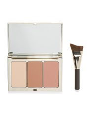 Face Contouring Palette With Brush