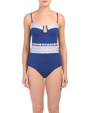 Milano Plunge One-piece Swimsuit