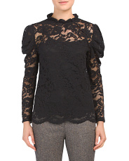 All Over Lace Top