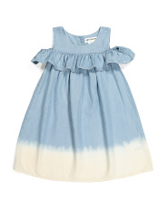 Toddler Girls Cold Shoulder Dress