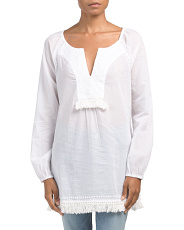 Shelli Embroidered Tunic