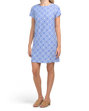 Made In Usa Ella Printed Dress