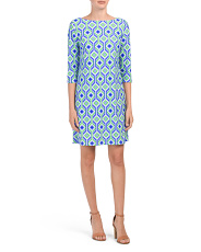 Made In Usa Marlowe Printed Dress