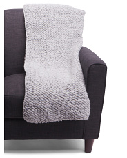 Made In Italy Wool Blend Throw