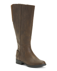 Wide Width & Calf Comfort Riding Boots