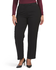 Plus Comfort Waist Bi-stretch Pants