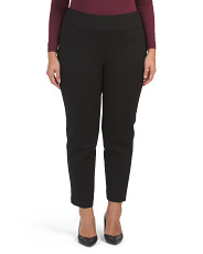 Plus Compression Ponte Pants