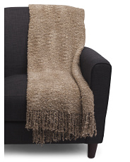 Made In Italy Knit Throw