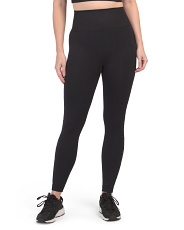 High Waist Laser Cut Side Leggings