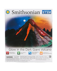 Glow In The Dark Giant Volcano