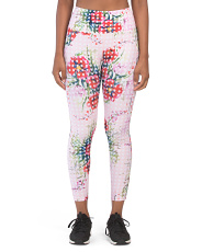 Polka Dot Floral Leggings