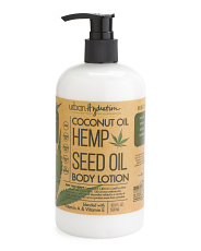 16.9oz Hemp Seed Oil Body Lotion