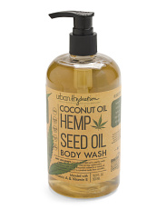 16.9oz Hemp Seed Oil Body Wash
