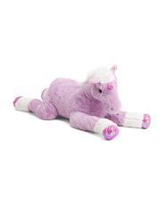 39in Plush Unicorn