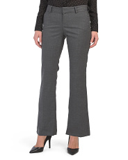 Petite Stretch Bootcut Pants
